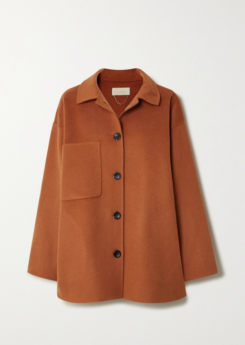 Vanessa Bruno Naïve Wool And Cashmere-blend Coat