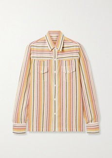 Vanessa Bruno Nolan Striped Cotton Shirt