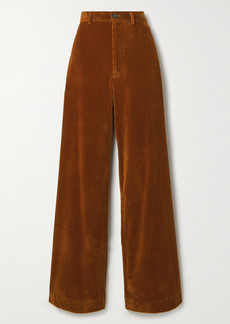 Vanessa Bruno Polo Cotton-blend Corduroy Wide-leg Pants