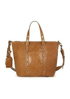 Vanessa Bruno Small Crinckled Leather Zippy Bag