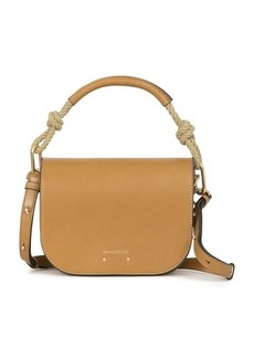 Vanessa Bruno Smooth leather Holly flap bag