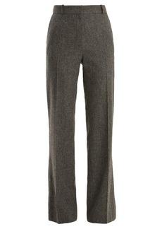 Vanessa Bruno Gauvain mid-rise herringbone wool trousers
