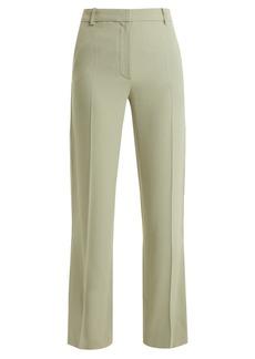 Vanessa Bruno Girel mid-rise crepe trousers