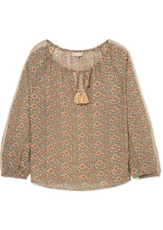 Vanessa Bruno Imika printed georgette blouse