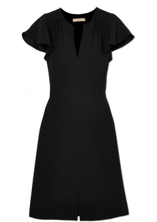 Vanessa Bruno Island gathered crepe dress