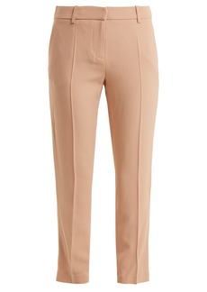 Vanessa Bruno Moustique mid-rise crepe trousers