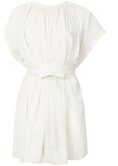 Vanessa Bruno tie waist short dress - White