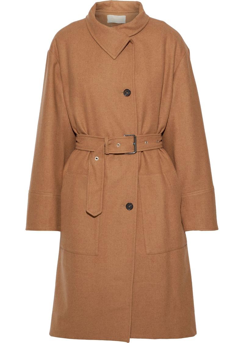 Vanessa Bruno Woman Belted Wool Coat Camel