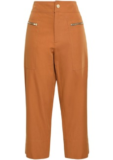 Vanessa Bruno Woman Iaka Cotton-blend Twill Tapered Pants Copper