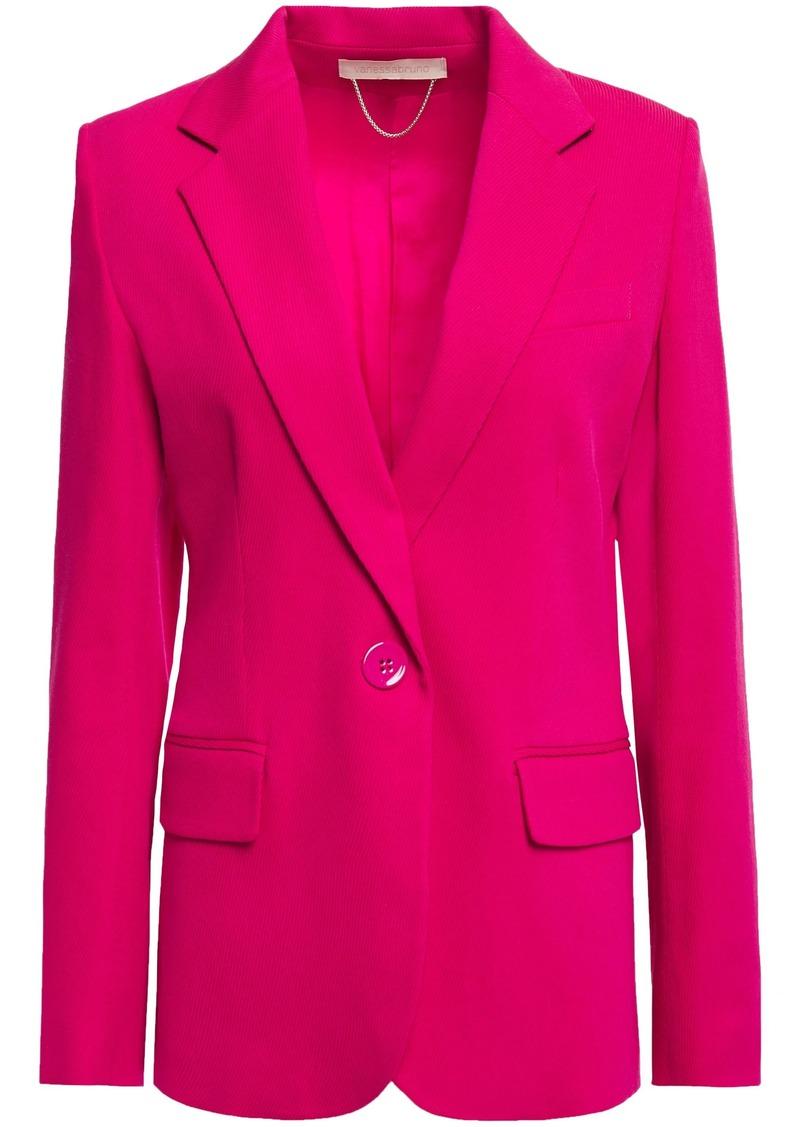 Vanessa Bruno Woman Jivan Wool-blend Gabardine Blazer Fuchsia