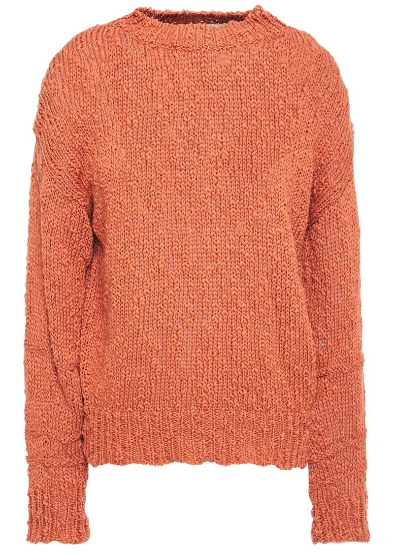Vanessa Bruno Woman Laurela Cotton Sweater Brick