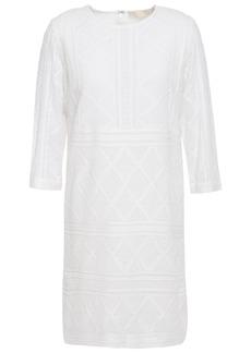 Vanessa Bruno Woman Luiz Embroidered Georgette Mini Dress Ivory