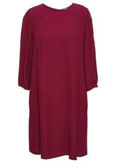 Vanessa Bruno Woman Satin-crepe Mini Dress Merlot
