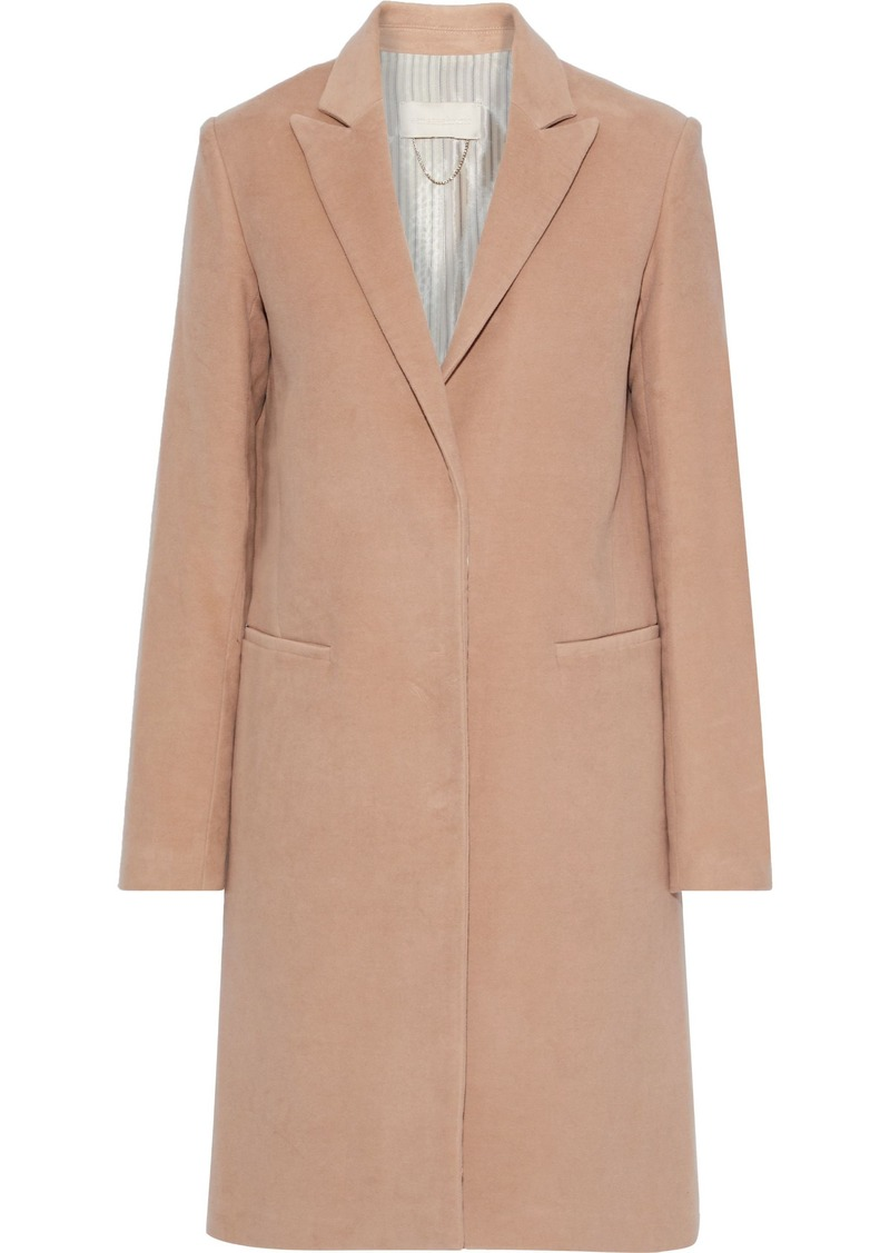 Vanessa Bruno Woman Washed Cotton-twill Coat Blush