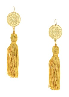 Vanessa Mooney Aliza Tassel Earrings