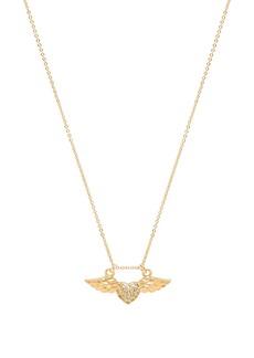 Vanessa Mooney Amante Winged Heart Necklace