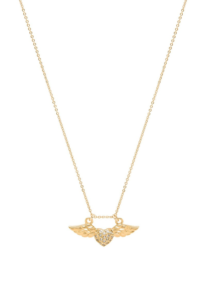 Vanessa mooney amante winged heart necklace jewelry amante winged heart necklace aloadofball Gallery