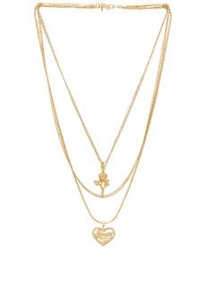 Vanessa Mooney Cielo Rose & Amor Layered Necklace