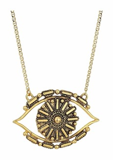 Vanessa Mooney The Big Eye Gold Necklace