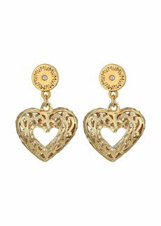 Vanessa Mooney The Charlotte Heart Post Earrings