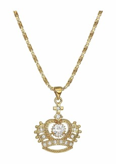 Vanessa Mooney The Crystal Crown Necklace