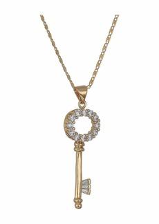 Vanessa Mooney The Crystal Key Necklace