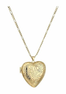 Vanessa Mooney The Large Heart Locket Necklace