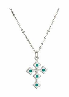 Vanessa Mooney The Paradise Cross Necklace