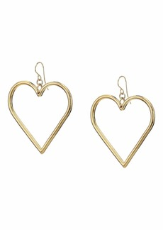 Vanessa Mooney The Queen Heart Earrings