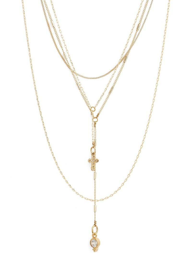 Vanessa Mooney Grace Multistrand Necklace