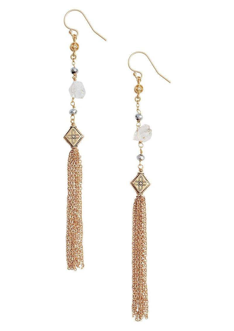 Vanessa Mooney Mia Herkimer Drop Earrings