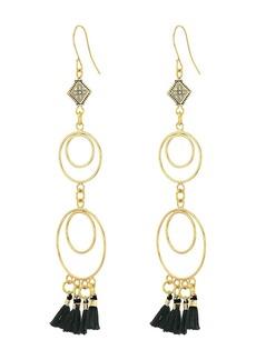 Vanessa Mooney The Ava Chandelier Tassel Earrings