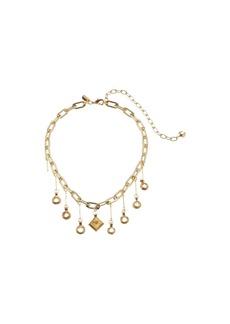 Vanessa Mooney The Celeste Chain Choker Necklace