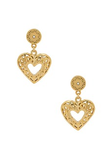Vanessa Mooney The Charlotte Heart Earrings