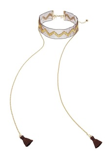Vanessa Mooney The Clash Choker Necklace