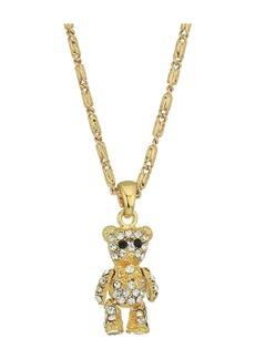 Vanessa Mooney The Crystal Teddy Bear Necklace