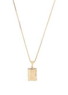 Vanessa Mooney The London D Initial Necklace