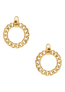Vanessa Mooney The Members Only VM Logo Hoops