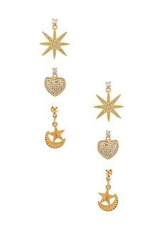 Vanessa Mooney The Starlover Earring Set