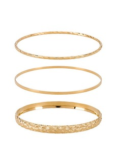 Vanessa Mooney X REVOLVE The Bold & Finesse Bangle Set
