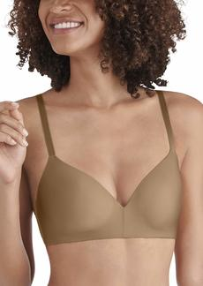 Vanity Fair Women's Nearly Invisible Full Coverage Wirefree Bra 72200 totally tan 36B