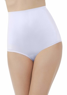 Vanity Fair Women's Perfectly Yours Ravissant Tailored Nylon Brief Panty - Size 3X-Large / 10 -