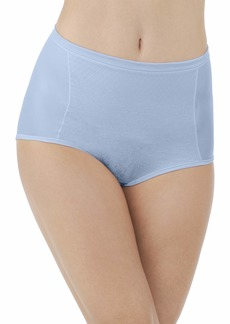 Vanity Fair Women's Smoothing Comfort with Lace Brief Panty 1322  Medium/