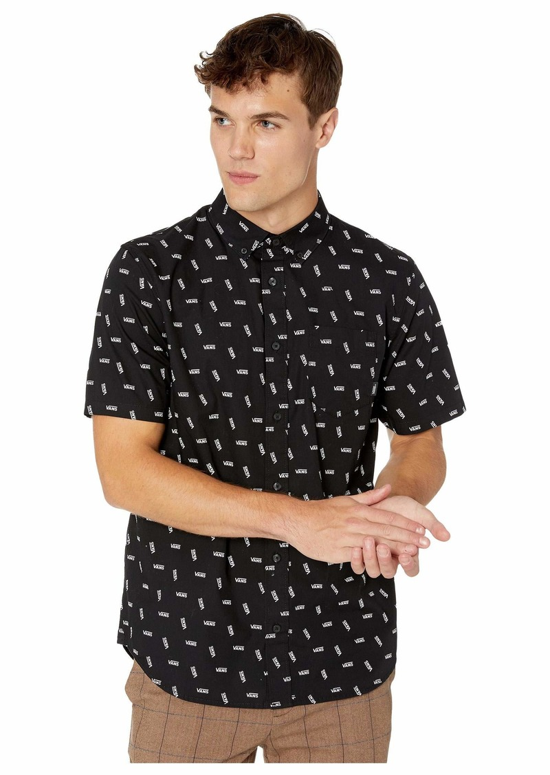 Vans All Over Distorted Performance Short Sleeve Woven