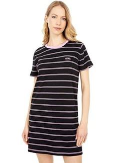 Vans Ally Stripe Short Sleeve Tee Dress