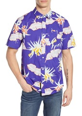 Vans Arachnofloria Print Classic Fit Shirt