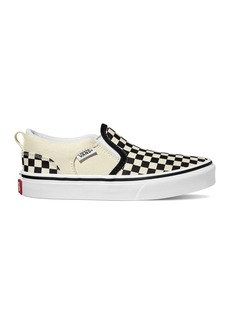 Vans Asher V Slip On Checkerboard Sneaker