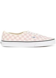 Vans Authentic checkboard sneakers