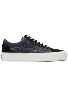 Vans Black & Blue OG Old Skool LX Sneakers