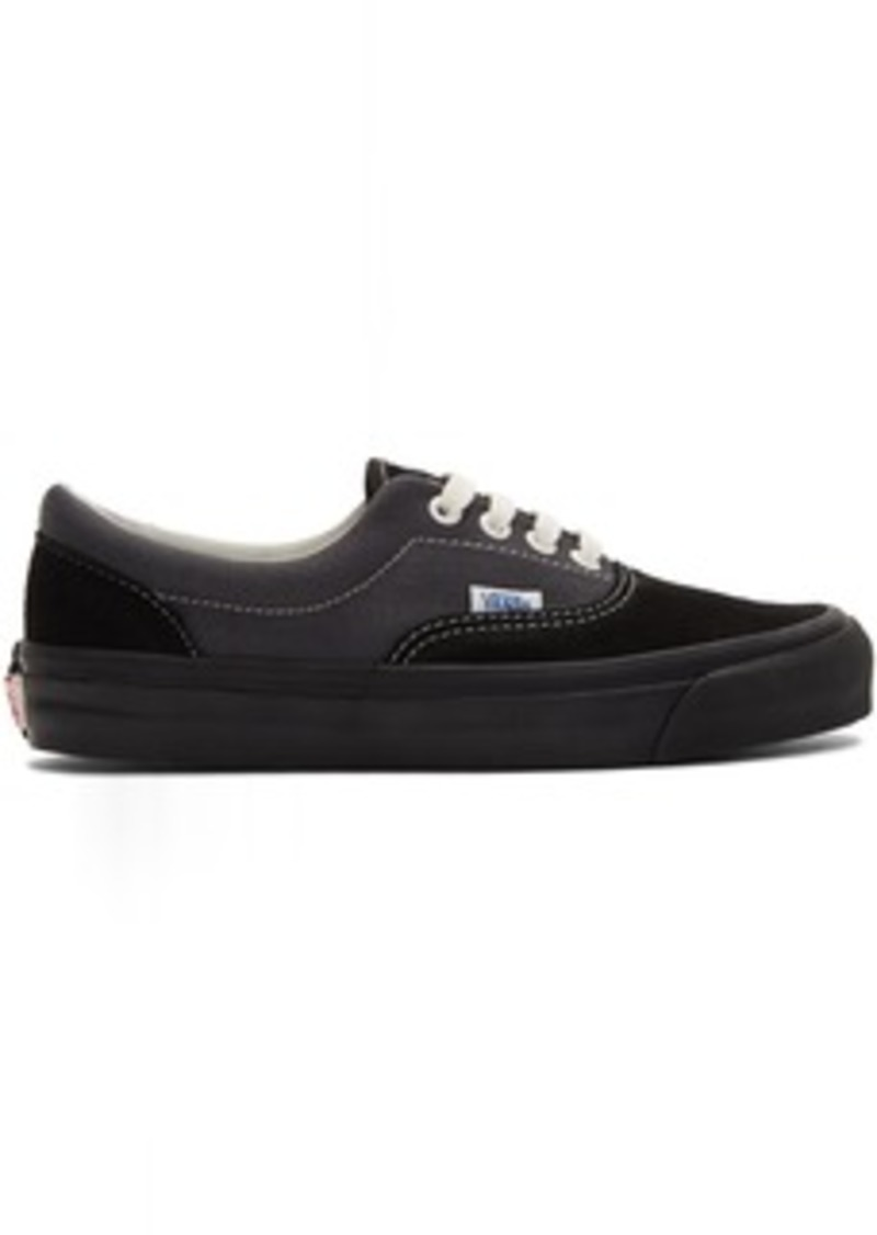 Vans Black & Grey OG Era LX Sneakers